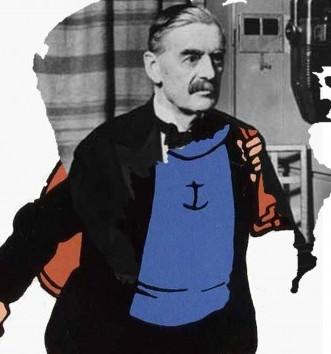 Neville Chamberlain Captain Haddock 2012 Jonathan Kelham